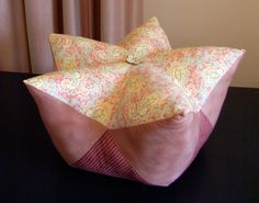 Star Fruit Cushion Tutorial