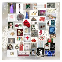 """Some More Etsy Christmas GIFT Ideas"" by mikahelaine on Polyvore featuring art"