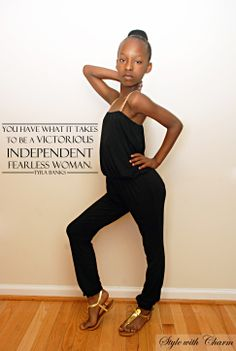 You have what it takes to be a victorious, independent, fearless woman. - @Charlène Simon Banks