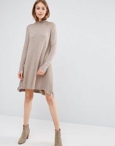 ASOS | ASOS Knit Tunic Dress in Cashmere Mix