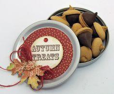 Acorn Kisses using Autumn Words designed by Barb Schram