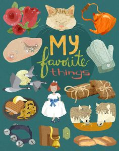 My Favorite Things Print by BekahsIllustration on Etsy Basketball Books, Music Mood, Music Party, 4th Birthday Parties, Sound Of Music, Graphic Prints, Vignettes, Creative Art, Eye Candy