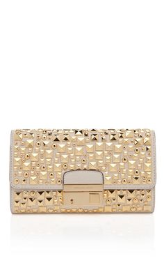 Gia Studded Clutch by Michael Kors