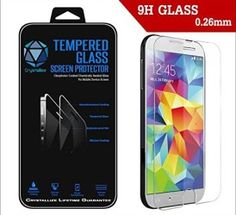 Samsung Galaxy Tempered Glass Screen Protector – Crystallize Protection for Your Galaxy Scratch Resistant with Hardness – Round Edge and Thin Design at – Bubble Free – Protect your Investment and Maximize Resale – Lifetime Guarantee Unlocked Smartphones, Smartphones For Sale, Samsung Galaxy S5, Tempered Glass Screen Protector, Cell Phone Accessories, Investing, Bubbles, Crystals, Free