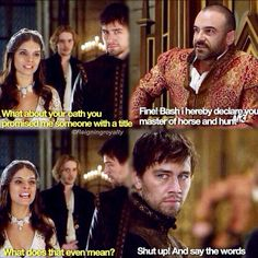"""""""Monsters"""" - King Henry, Kenna and Bash This was so sad, I felt so bad for both of them, but especially Bash Reign Mary, Mary Queen Of Scots, Queen Mary, Reign Catherine, Mary Stuart, Bash And Kenna, Serie Reign, Reign Over Me, Reign Quotes"""