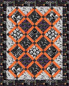 Quilt Inspiration: Free Pattern Day: Halloween Patch Quilt, Quilt Blocks, Applique Patterns, Quilt Patterns, Pumpkin Quilt Pattern, Halloween Quilts, Fall Quilts, Tablerunners, Pattern Blocks