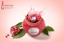 건강한 음료 006 Advertising Pictures, Bubble Milk Tea, Poster Background Design, Banner Design, Fresh Fruit, Bubbles, Christmas Ornaments, Holiday Decor, Packaging