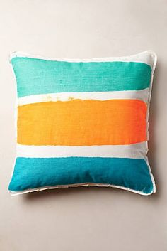 Brushed Stripe Pillow #AnthroFave