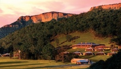 During your visit to Australia, stay at the Wolgan Valley Resort and Spa for a luxury bush adventure in the Greater Blue Mountains. #JetsetterCurator