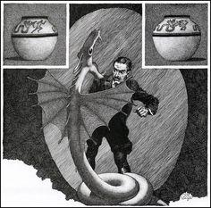 Virgil Finlay ~ Weird Tales