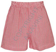 Anavini boy's red seersucker shorts from Anavini's Spring/Summer 2013 line.  $26 + shipping!