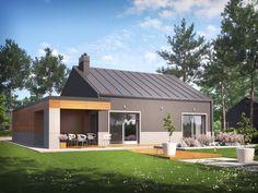 DOM.PL™ - Projekt domu AC Edwin II G2 ENERGO CE - DOM AF6-56 - gotowy projekt domu