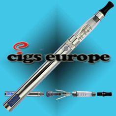 E-sigaret CE5 LCD DeLuxe //Prijs: € & GRATIS Verzending vanaf €50 //     #EcigsEurope #ElektronischRoken #ElektronischeSigaretten #Dampen