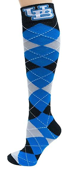 One Size Blue Donegal Bay NCAA BYU Cougars Argyle Fuzzy Socks