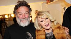 Joan Rivers 09-04-2014 & Robin Williams 08-11-2014: This pic captures comedy's recent loss!!