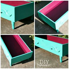 DIY Repurposed Dresser Drawer Dog Bed **Or it could be a cool babydoll bed! Dog Furniture, Repurposed Furniture, Steel Furniture, Furniture Cleaning, Cheap Furniture, Discount Furniture, Old Dressers, Dresser Drawers, Diy Dog Bed
