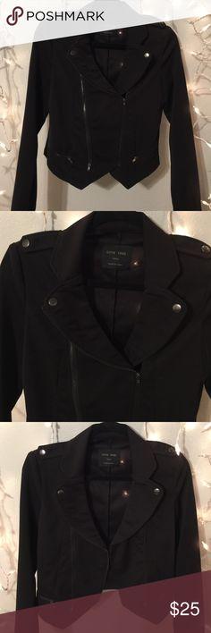 Moto Jacket Lightweight material. Biker chic. Jackets & Coats Blazers