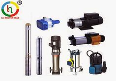 Các loại máy bơm nước, gia đình, công nghiệp