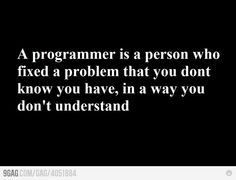 Who is a programmer,,,