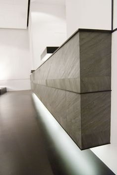You can clad just about anything in Lite Stone natural slate and stone veneer which is great for unique interior design