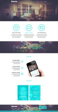 Narrow Web design progress on Behance