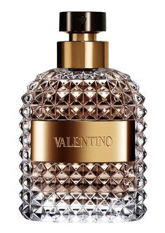 Valentino Eau de Toilette, il flacone sembra quasi voler riproporre le sfaccettature di un diamante.
