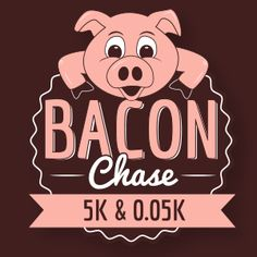 Bacon Chase 5K (3.1 miles) and .05K (164 feet) at Montrose Beach, Chicago. June. Bacon Chase 5K and 0.05K are untimed races all about one thing: bringing home the bacon. Bacon Chase is proud to partner with St. Jude Children's Research Hospital.