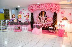 Tema de Festa Jolie - Decorativa Festas - Decoração de Festa Infantil em Florianópolis