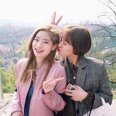 TWICE - Kim DaHyun 김다현 & Son ChaeYoung 손채영 #숏컷