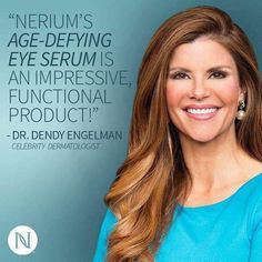 Nerium International offers exclusive age-defying skincare and wellness products with patented ingredients to help people look and feel their best. Anti Aging Serum, Eye Serum, Best Anti Aging, Anti Aging Skin Care, Nerium, Anti Aging Treatments, Skin Tips, Skin Cream, Benefit