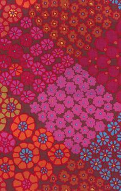 Tile Flower red