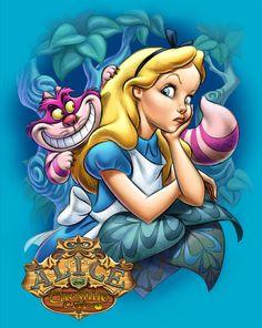 Alice & The Cheshire Cat!