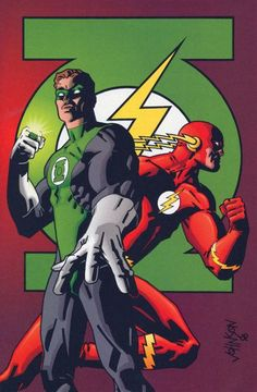 DC Comics Presents: The Flash And The Green Lantern: Faster Than Friends Marvel Dc Comics, Dc Comics Superheroes, Dc Comics Characters, Dc Comics Art, Marvel Vs, Dc Heroes, Comic Book Heroes, Comic Books Art, Comic Art
