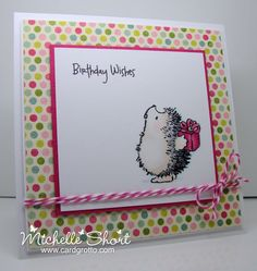 love the Penny Black hedgies