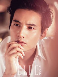 Extra Biotherm Homme Shots Of Won Bin In Elle Korea's June 2014 Issue | Couch Kimchi