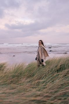 Escape To Ireland In The Winter + A Video Of Our Trip - Max Mara Coat, Erlum Alpaca Sweater c/o, Frame Pants, Moncler Boots, Max Mara Scarf, Moncler Beanie, Celine Bag