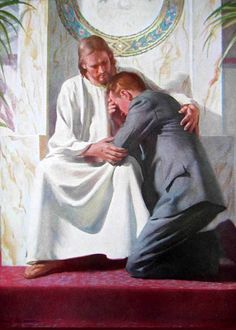 Jesus is our comforter, our consoler, the Good Shepherd. Jesus consoles the brokenhearted. Images Of Christ, Pictures Of Jesus Christ, Bible Images, Religious Pictures, Bible Pictures, Religious Art, Harry Anderson, Christian Pictures, Life Of Christ