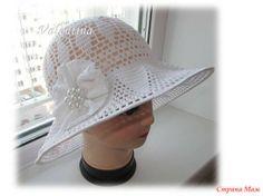 Белая шляпа для любимой воспитательницы!