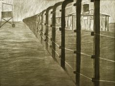 """Misa's Fugue is now on Pinterest!!  """"Birkenau"""" an art piece featured in Misa's Fugue (www.misasfugue.com)"""