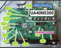 LED TV Mainboard Voltages Guide Sony Lcd, Sony Led Tv, Tv Led, Electronic Circuit Design, Electronic Engineering, Electronics Basics, Electronics Projects, Smart Tv, Switched Mode Power Supply