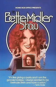 The Bette Midler Show (June 19, 1976, HBO) TV Special starring Bette Midler