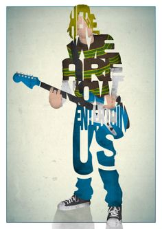 Entertain Us - Kurt Cobain (Nirvana)