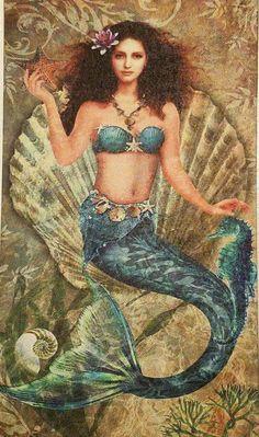 Image may contain: 1 person Mermaid Artwork, Mermaid Pictures, Mermaid Drawings, Mermaid Tattoos, Fantasy Mermaids, Real Mermaids, Mermaids And Mermen, Images Of Mermaids, Mermaid Fairy