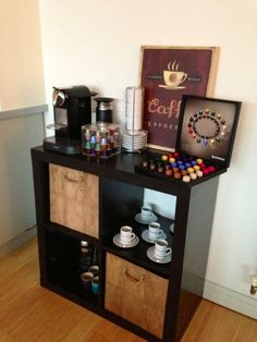 Coffee Bar Ideas | Coffee Bar! | Ideas to Decorate new House