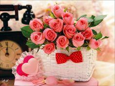 خلفيات حب قلوب ورد ورود للكمبيوتر صور رومانسية للاب توب مذهلة Love hearts…