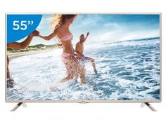 "TV LED 55"" LG Full HD 55LF5650 - Conversor Digital 2 HDMI 1 USB"