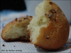 Pão de Batata Doce. Flor de Melissa Atelier: Pão??? Hummm...