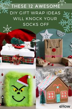 These creative gift wrap ideas are so impressive, the recipient will completely forget about the present inside!