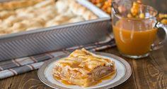 Caramel Apple Slab Pie