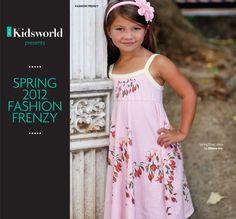 Sweet Easter Girls Organic Dress ~ DhanaEcoKids
